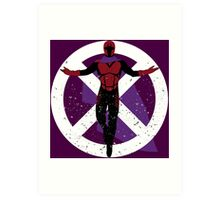 The Master of Magnetism Art Print