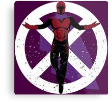 The Master of Magnetism Metal Print