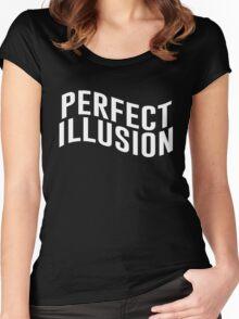 It wasn't love [3] Women's Fitted Scoop T-Shirt