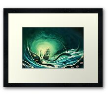 Kraken - version 2 Framed Print