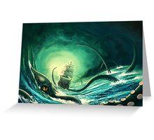 Kraken - version 2 Greeting Card