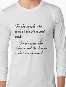 To the stars Long Sleeve T-Shirt