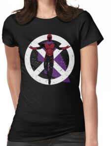 The Master of Magnetism Womens Fitted T-Shirt