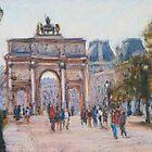 Arc du Carrousel, Paris by Terri Maddock