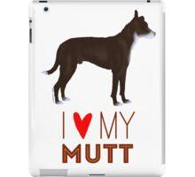 Mutt Love: Brown and White iPad Case/Skin