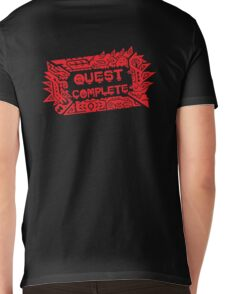 Monster Hunter Quest Complete angled Mens V-Neck T-Shirt