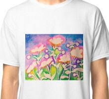 Pink Japanese Anemones Classic T-Shirt