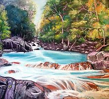 River Flow, Australia by Linda Callaghan