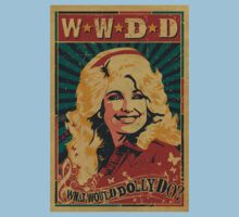what would dolly do Kids Tee