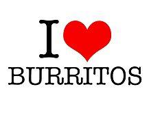 I love burritos by Crumpettt