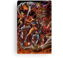 Battle Thundercats Canvas Print