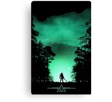 link the forest Canvas Print