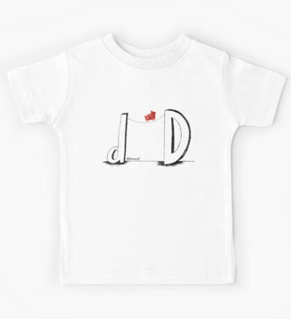 D is for Determined  Kids Tee