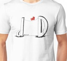 D is for Determined  Unisex T-Shirt