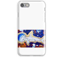 Shark in Space  iPhone Case/Skin