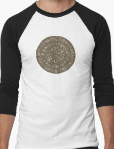 Phaistos Disk Men's Baseball ¾ T-Shirt