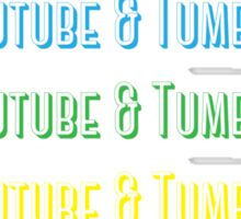 Youtube & Tumblr Sticker