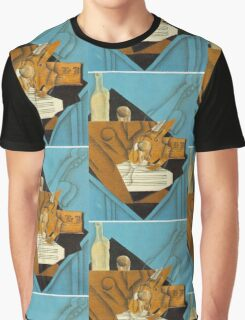 Juan Gris - Musician S Table 1914 Graphic T-Shirt