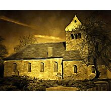 Historic Romanesque style Church Photographic Print