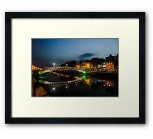 Ha'penny Bridge, Dublin  Framed Print