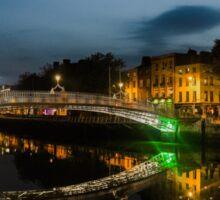 Ha'penny Bridge, Dublin  Sticker