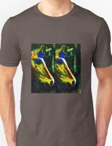 blue mane horse Unisex T-Shirt