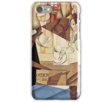 Juan Gris - Breakfast 1914 iPhone Case/Skin