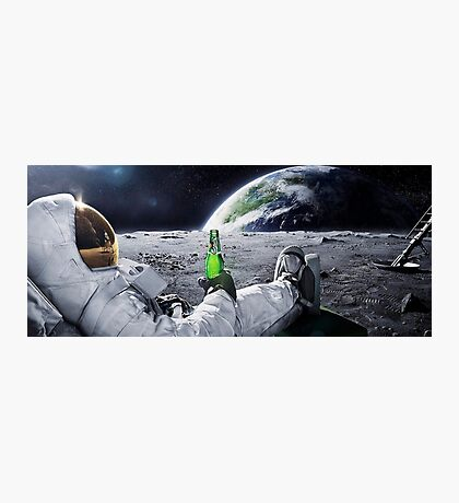 Space Beer Photographic Print