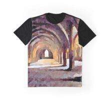 Fountains Abbey Series 002 Graphic T-Shirt