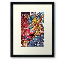 Thunder Cats Framed Print