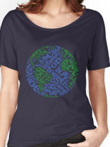Earth Day: Love. Act. Change. Women's Relaxed Fit T-Shirt