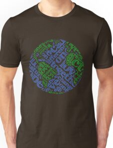 Earth Day: Love. Act. Change. Unisex T-Shirt