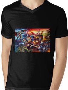 Power Thundercats Mens V-Neck T-Shirt