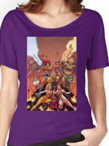 Thundercats & He Man Women's Relaxed Fit T-Shirt