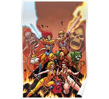 Thundercats & He Man Poster