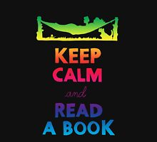 KEEP CALM AND READ A BOOK (RAINBOW) Tank Top