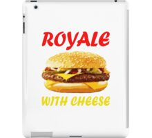 Royale With Cheese iPad Case/Skin