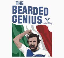 The Bearded Genius One Piece - Short Sleeve