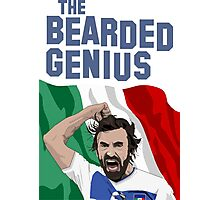The Bearded Genius Photographic Print