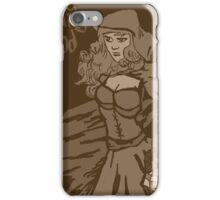 Red riding hood vintage iPhone Case/Skin