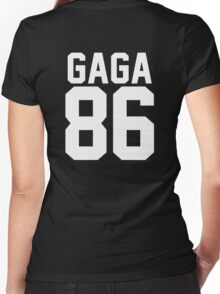 #LADYGAGA Women's Fitted V-Neck T-Shirt