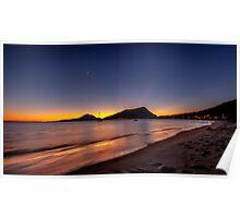 Shoal Bay Sunrise Poster