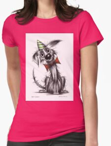 Bad Harry Womens Fitted T-Shirt