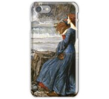 John William Waterhouse - Miranda - The Tempest  iPhone Case/Skin