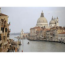 The Picture Postcard Venice Photographic Print