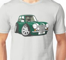 Rover Mini caricature green Unisex T-Shirt