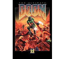 Doom retro Photographic Print