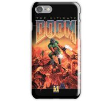 Doom retro iPhone Case/Skin