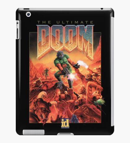Doom retro iPad Case/Skin