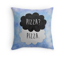 Pizza? Pizza. Throw Pillow